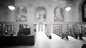 The Main Detroit Public Library
