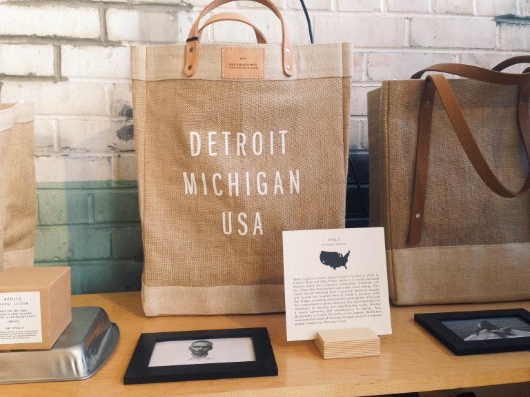 Web Exclusive: Interview with Apolis, a brand featured at Willys Detroit