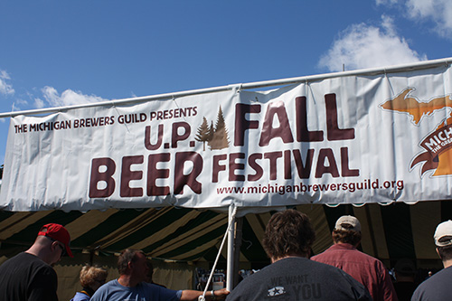 Recap of the U.P. Fall Beer Fest: From Pale Ales to Pastie Beers