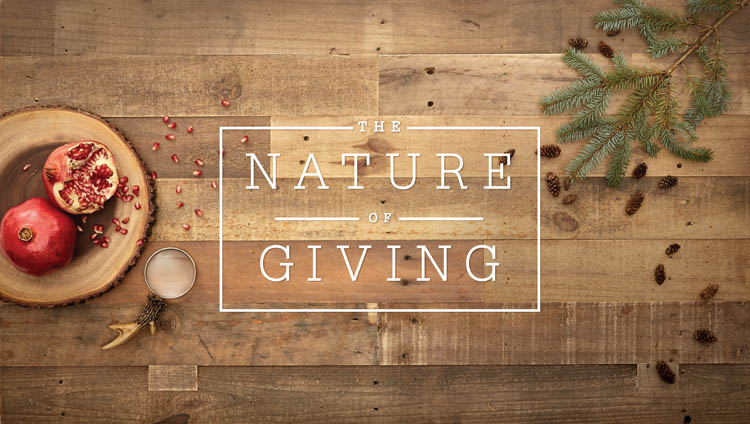 The Nature of Giving