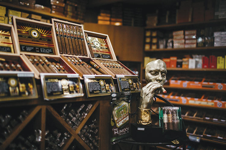 Raising the Cigar Bar