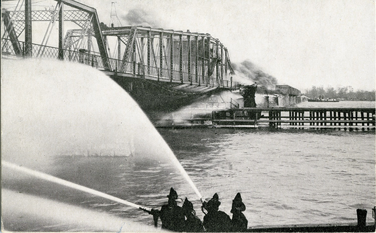 The Way It Was – Burning of Belle Isle Bridge, 1915