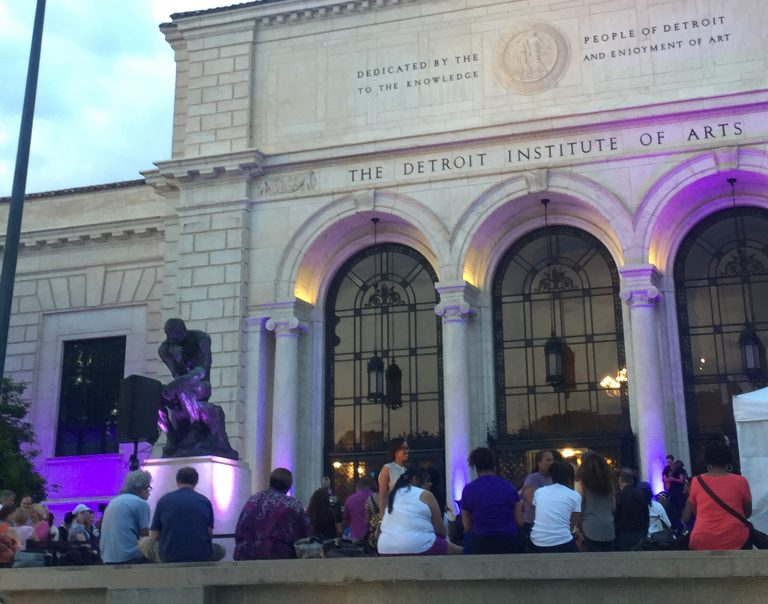 Notes from the DIA's Prince tribute dance party