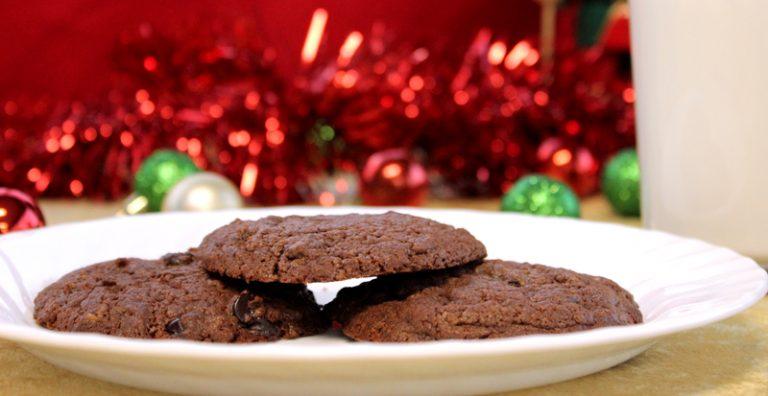 Five Ingredient Chocolate Hazelnut Cookies
