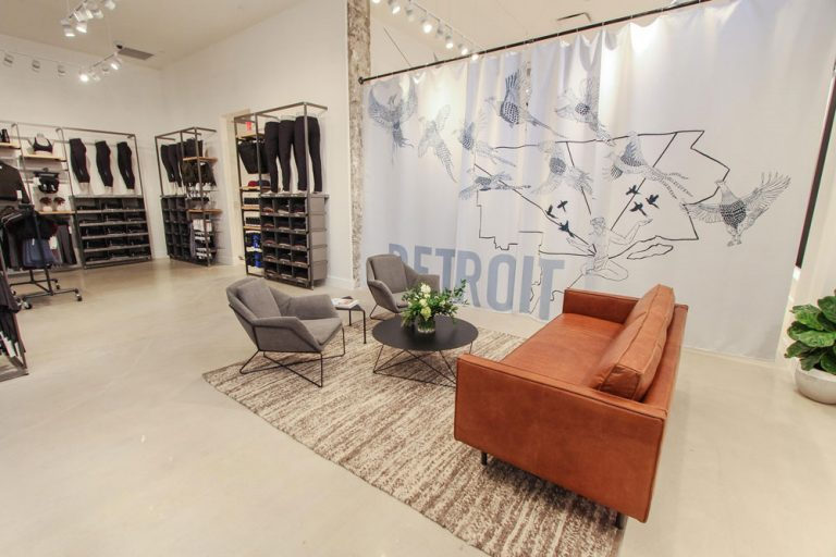 Detroit's New Lululemon Partners with Downtown Boxing Gym