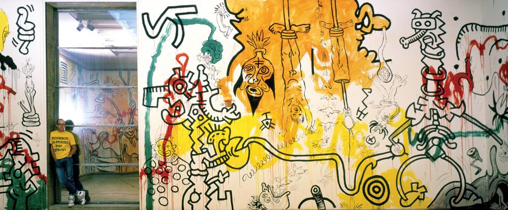 Haring Mural