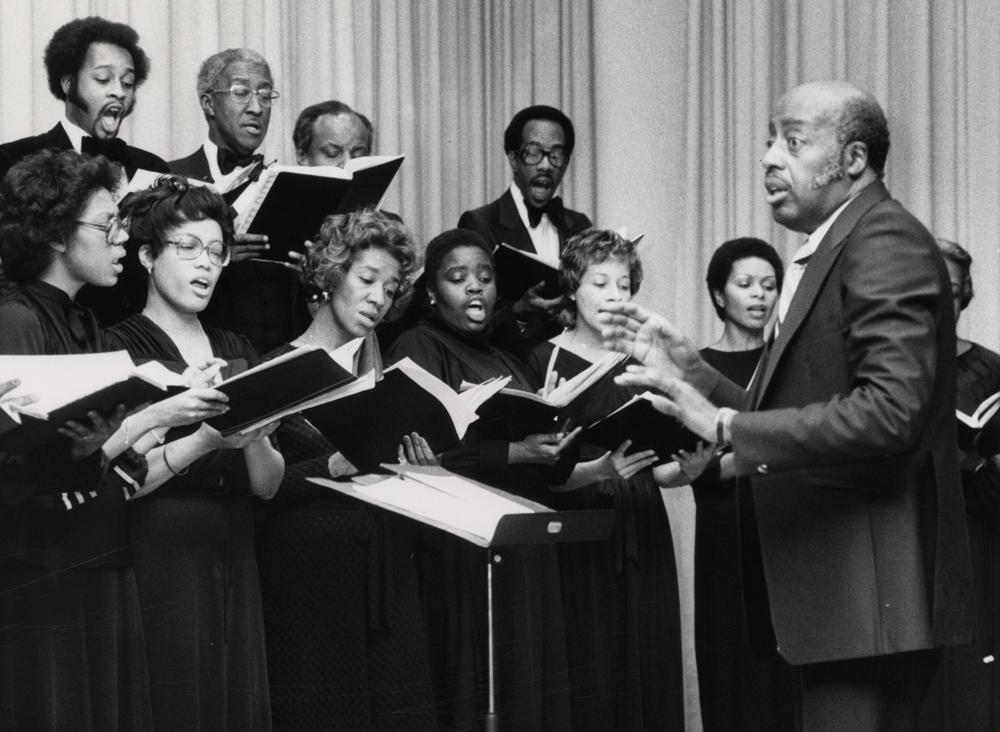 The Brazeal Dennard Chorale, 1975