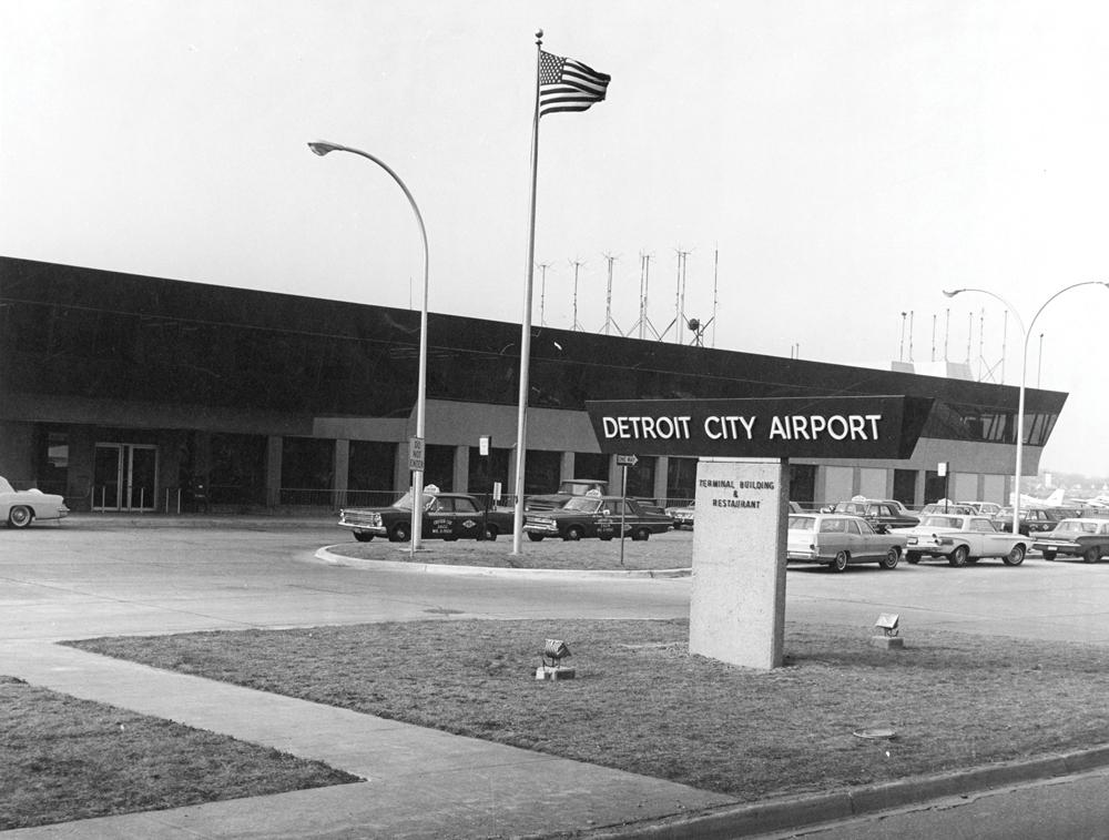 Detroit City Airport, 1970