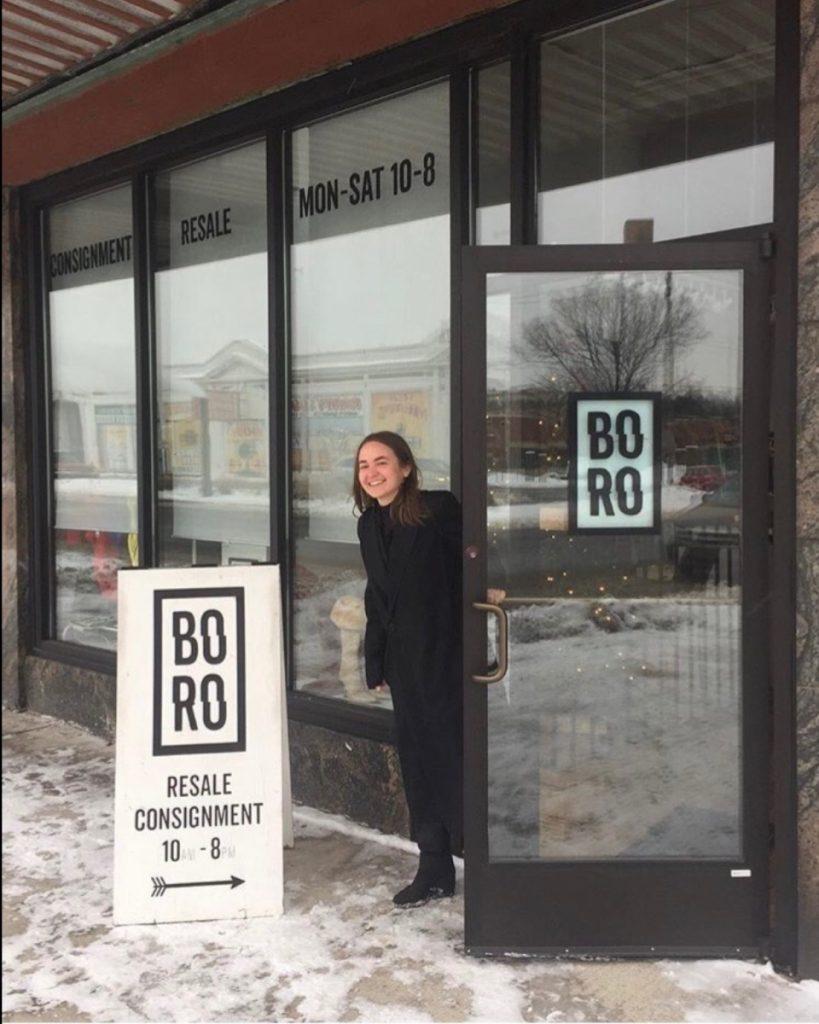 Miriam Pranschke, owner of Boro Resale