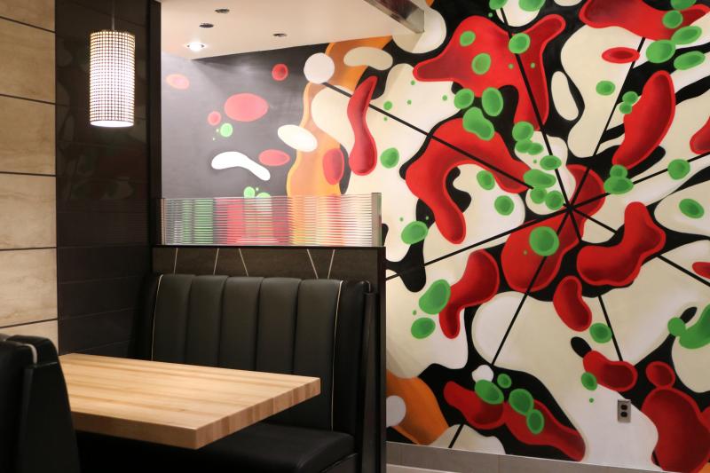 Detroit Mootz Pizzeria Interior