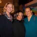 Elizabeth Buchanan, Dr. Eveldora Wheeler, Joy Crawford
