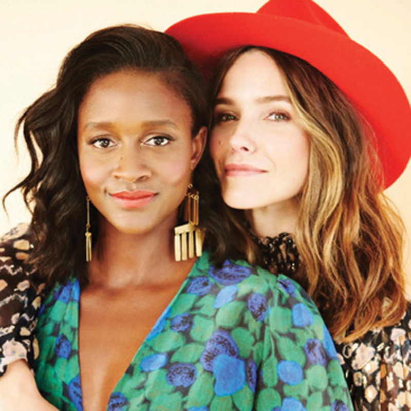 Sophia Bush and Nia Batts