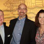Doug Dossin, John and Heather Chase