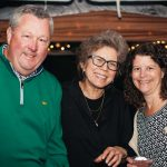 Chuck Batcheller, Gretchen Baron, Linda Batcheller