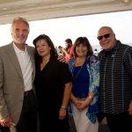 Michael Breen, Susan Fairchild, Sharon and Leo Nouhan