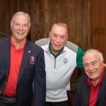 Lew LaPaugh, Ted Lindsay Foundation Board Member- Richard Powell, Frank Beckman