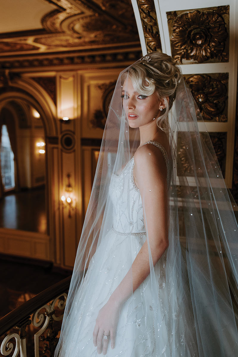 couture bridal gown by Katerina Bocci