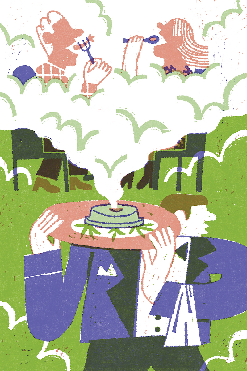 dining cannabis
