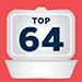 Takeout Bracket Icon - Top 64 Winner