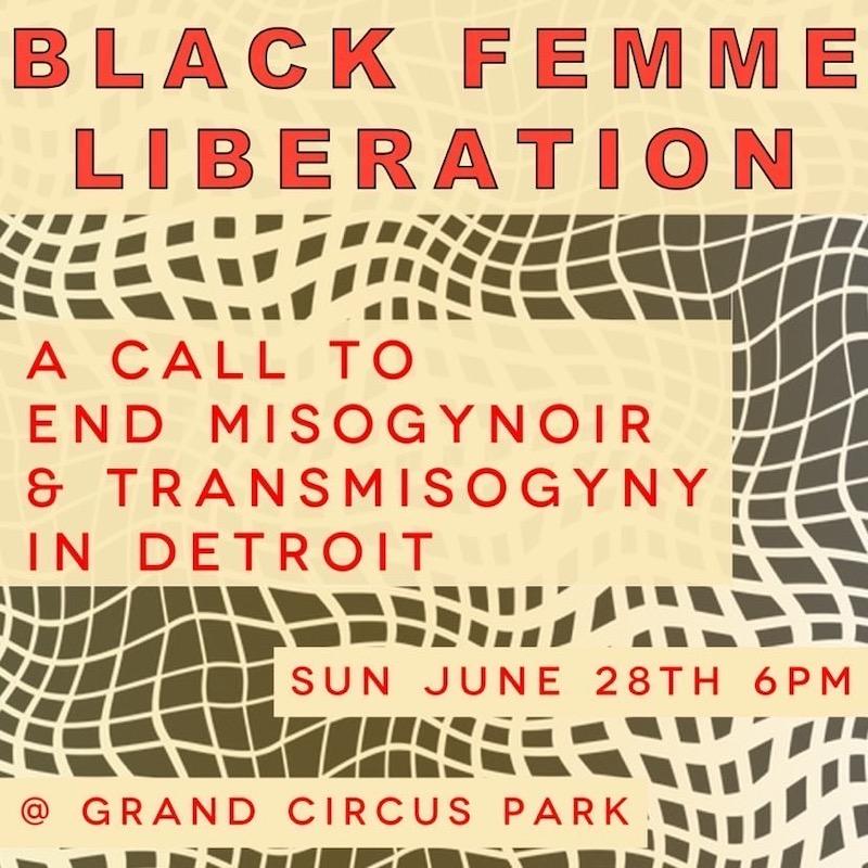 black femme liberation detroit