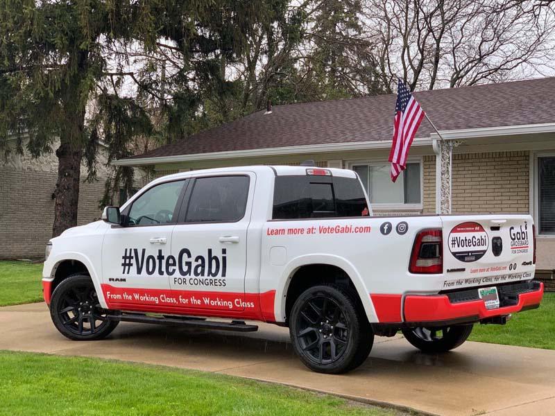 campaigning GabiGrossbard_truck
