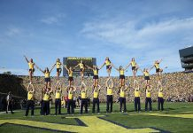 university of michigan cheerleading fitness tips
