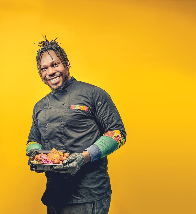Godwin Ihentuge - Black Culinarians detroit food scene