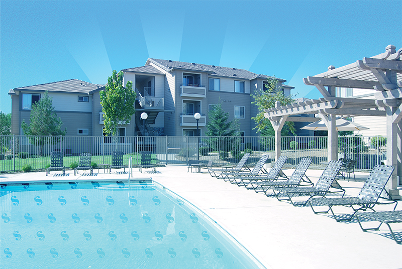 HOA community pool