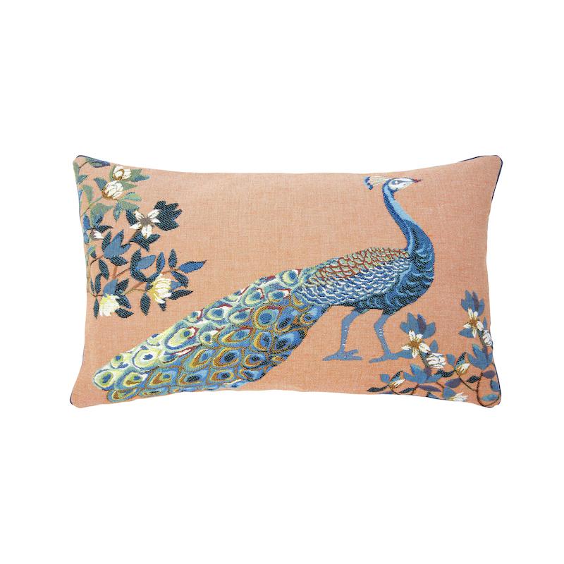 throw pillows peacock