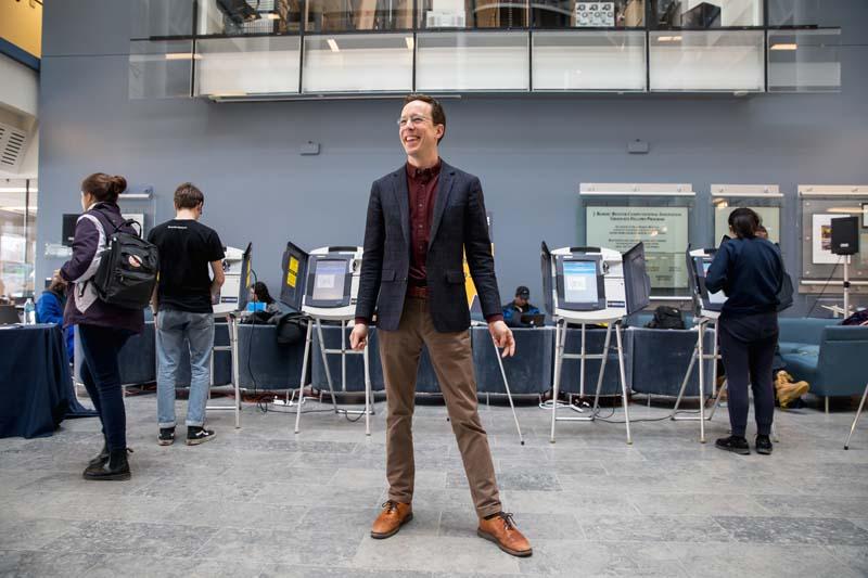 Alex Halderman - U-M voting election
