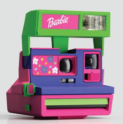 Barbie Pop-up truck
