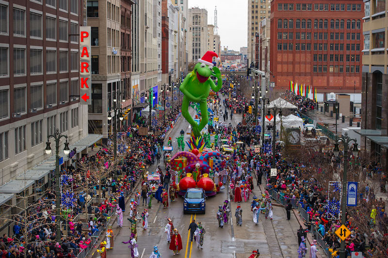 detroit thanksgiving parade