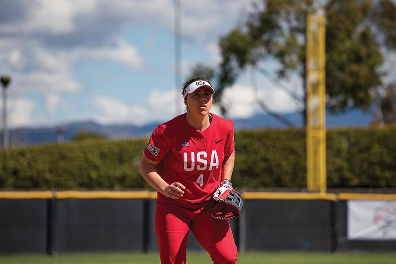 Amanda Chidester softball olympics