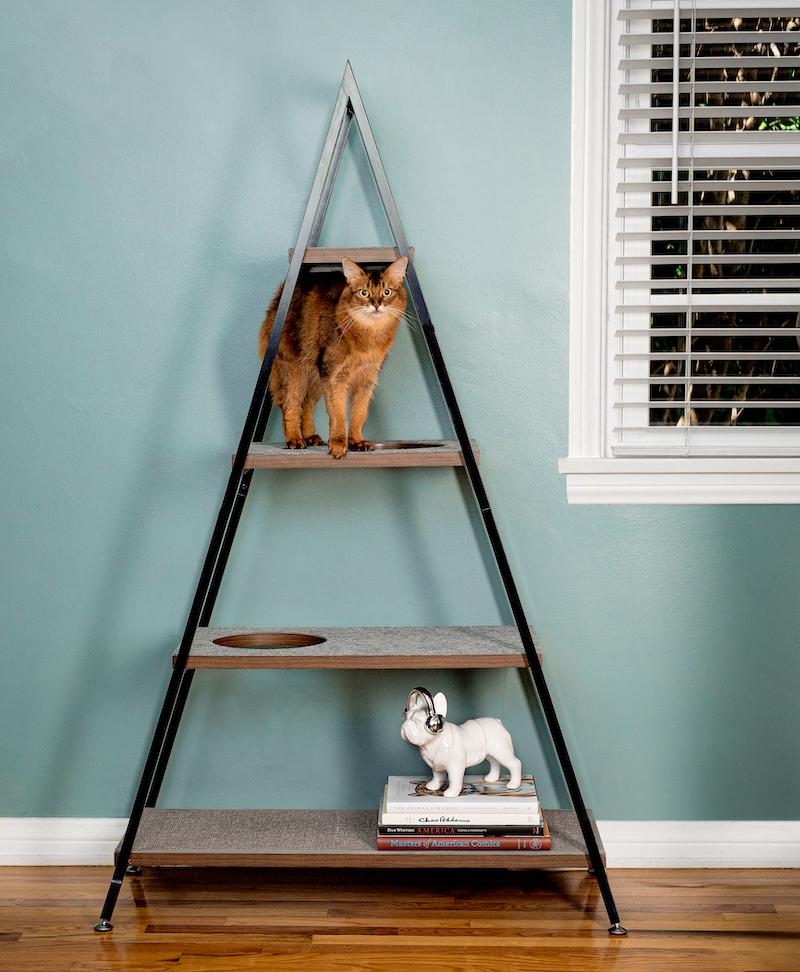 cat furniture pyramid