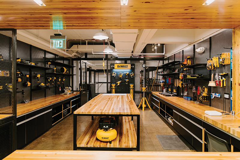 Carhartt's lending library of tools