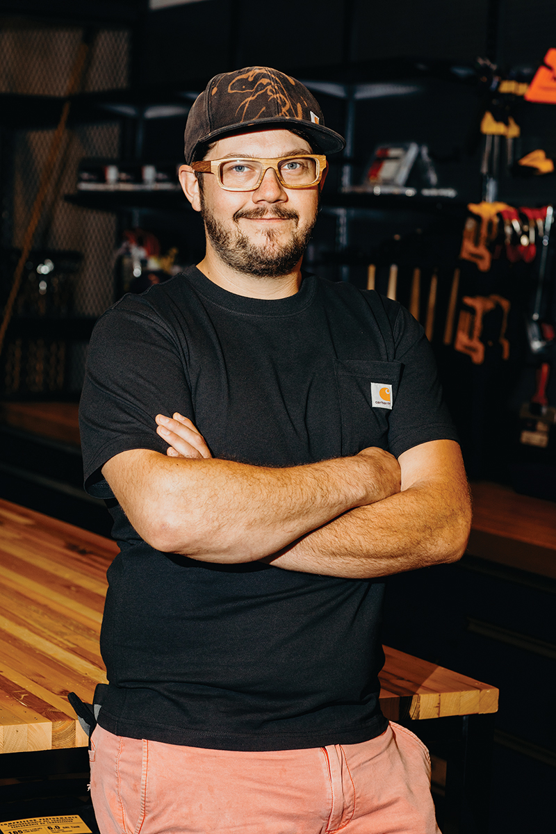Achille Bianchi Carhartt's workshop manager
