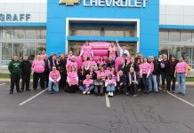 chevrolet american cancer society