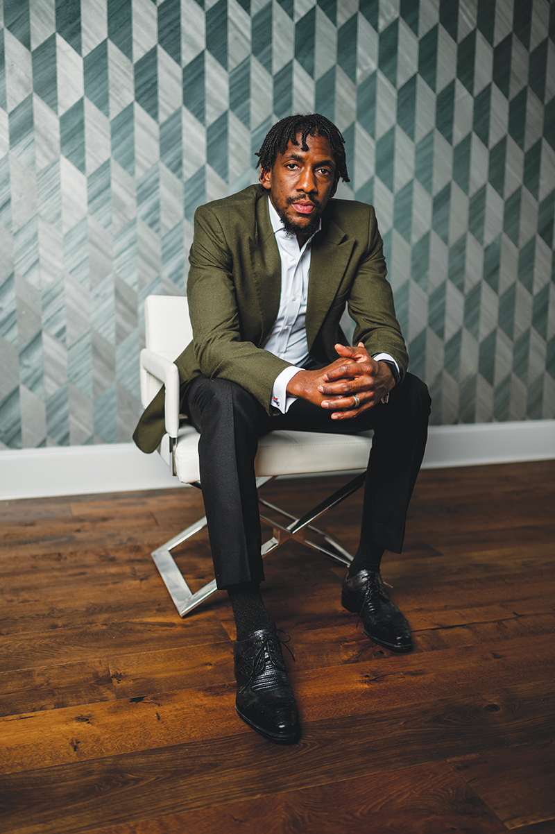 stylish at home - metro detroit best dressed list - langston galloway