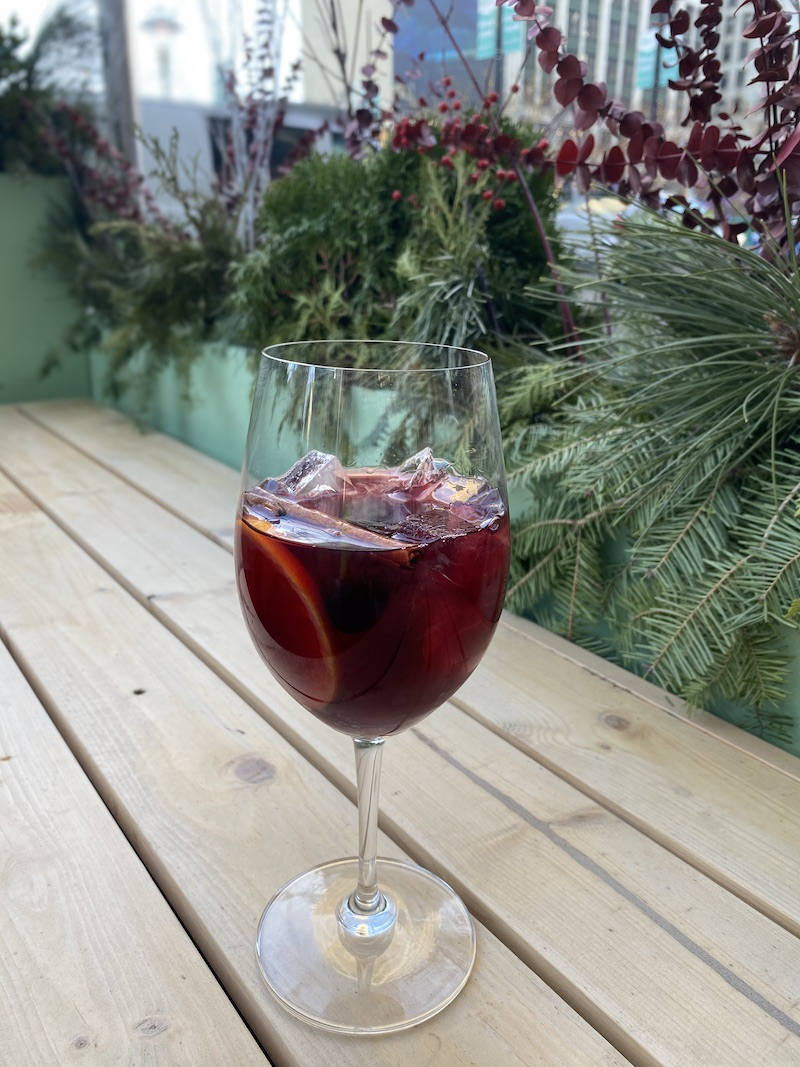 Cranberry Holiday Sangria