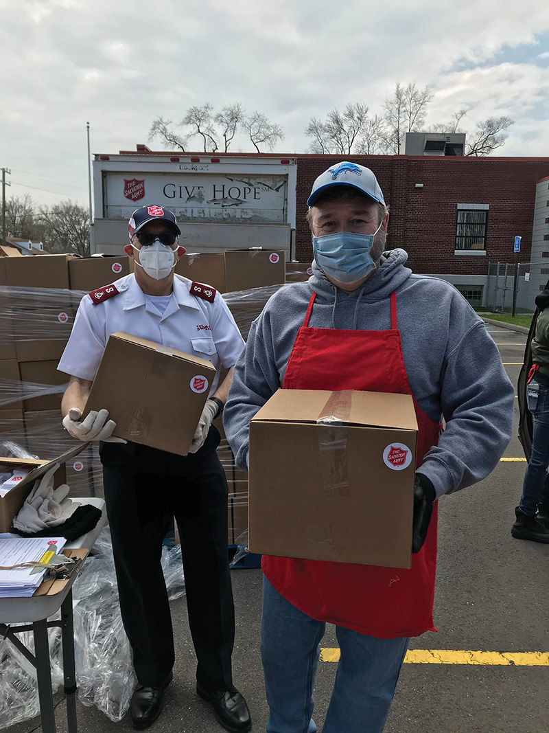 Metro Detroit Charities - salvation army