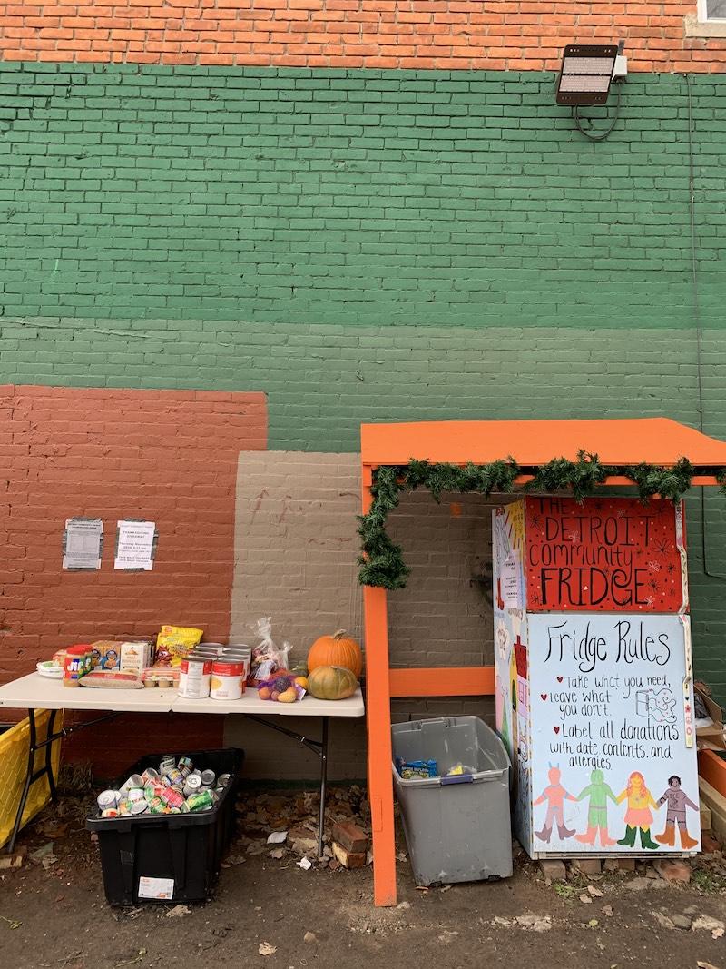 Detroit Community Fridge