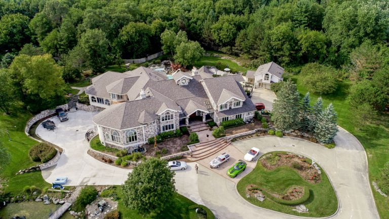 Lose Yourself in This Oakland Township Mansion Now On Market