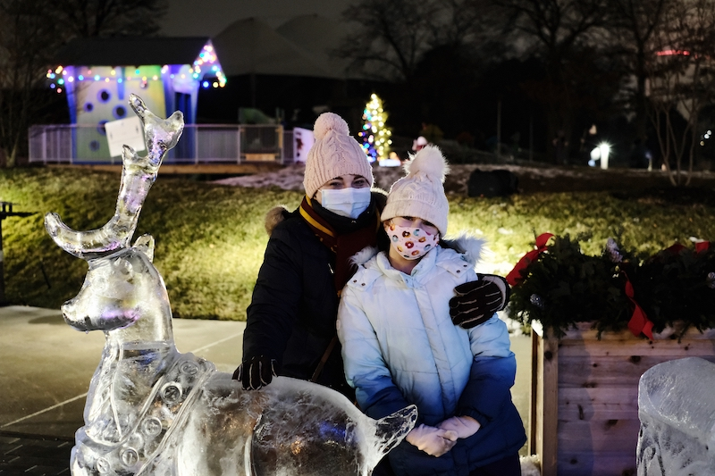 ice carving - things to do