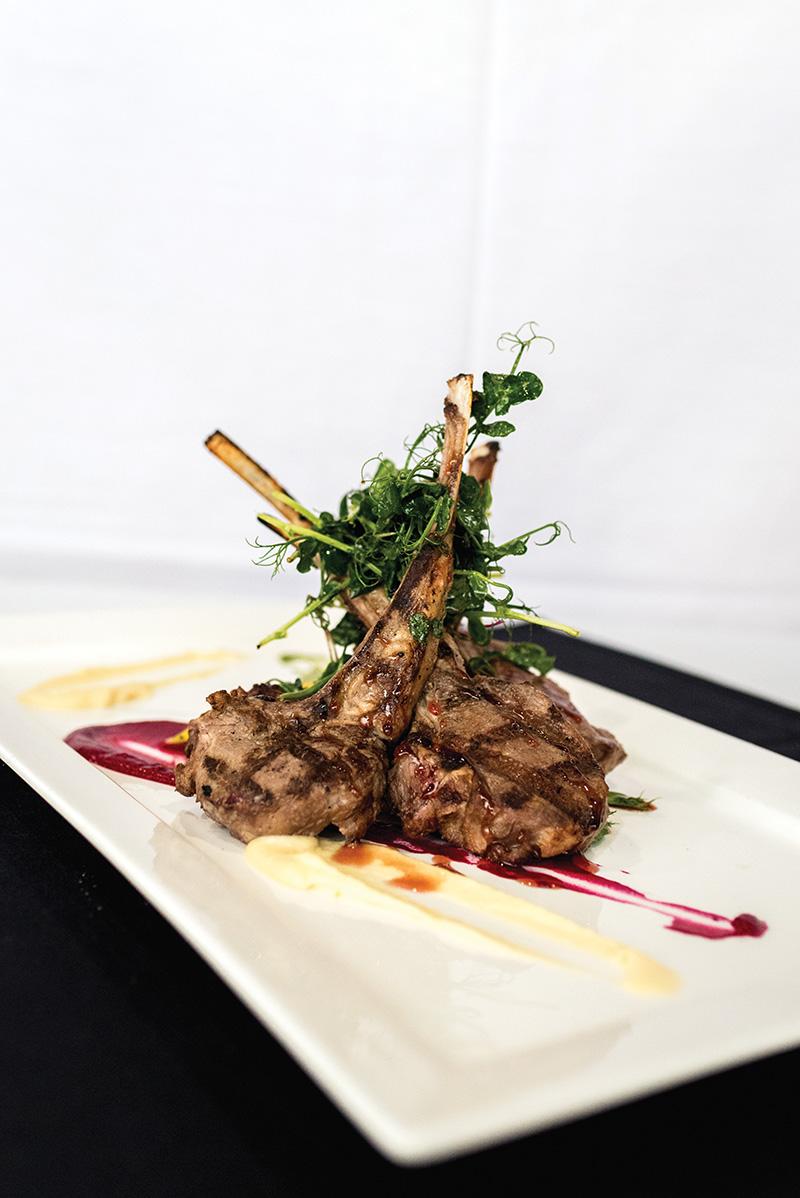 Table No. 2 - Rack of Lamb Chops