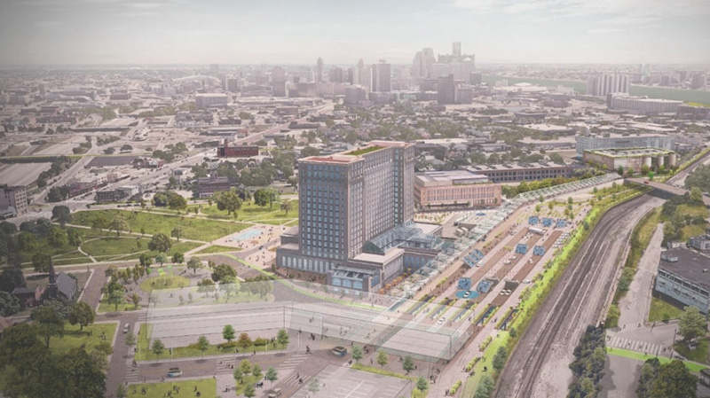 detroit developments - michigan central