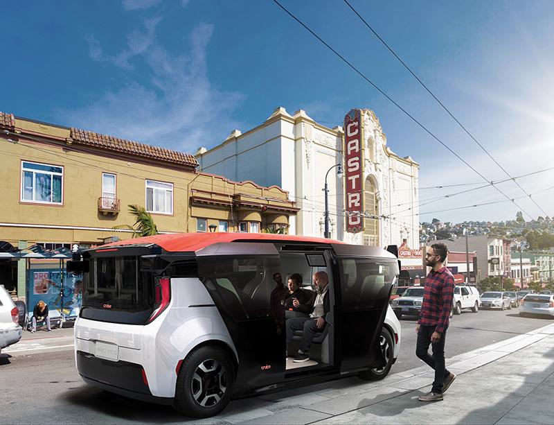 autonomous vehicles - cruise origin