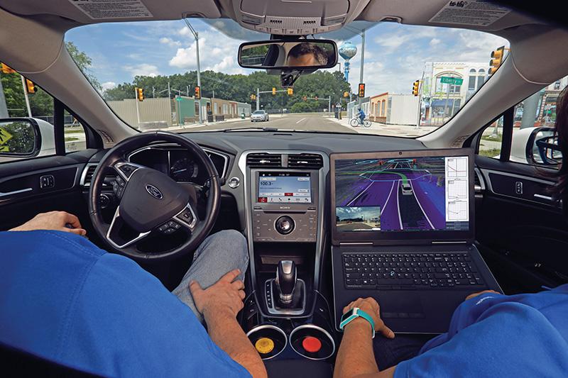 ford car interior