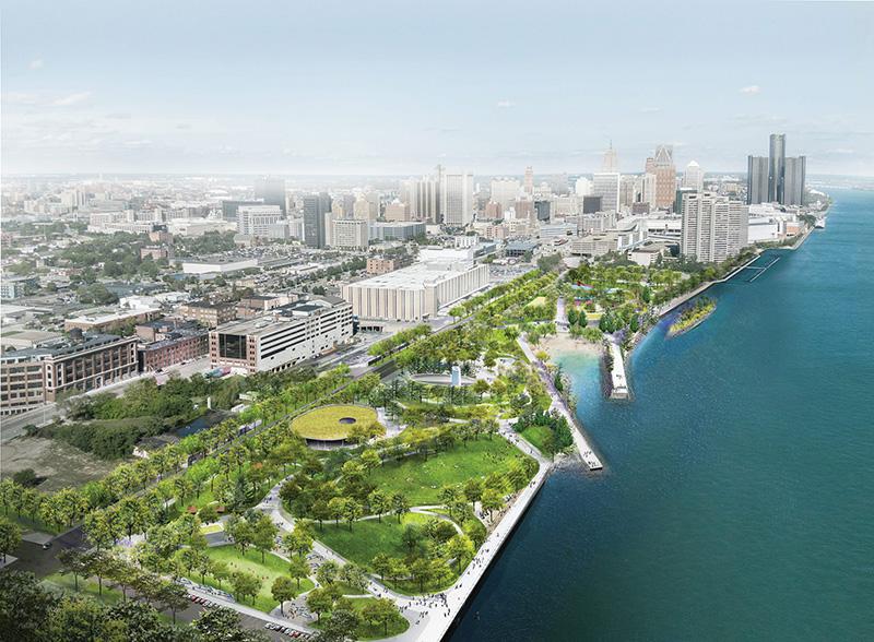 detroit developments - ralph c wilson jr centennial park