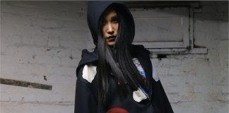 Black Denim Felt Patchwork Jacket - Deviate