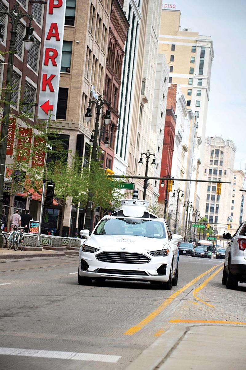 autonomous vehicles - Ford Fusion Hybrid